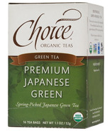 Choice Organic Teas Premium Japanese Green Tea