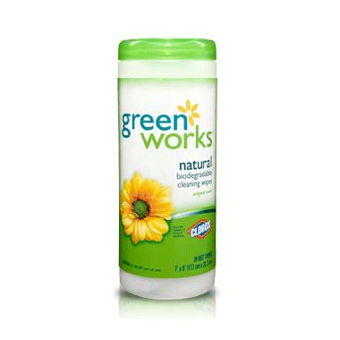 Green Works Natural Cleaning Wipes