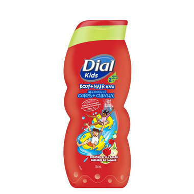 Dial Kids Bursting Apple Rapids Body + Hair Wash
