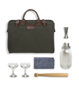 Mason Shaker Cocktail Kit in Forest Green