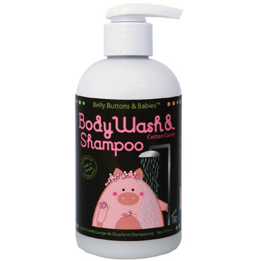 Belly Buttons & Babies Cotton Candy Body Wash and Shampoo
