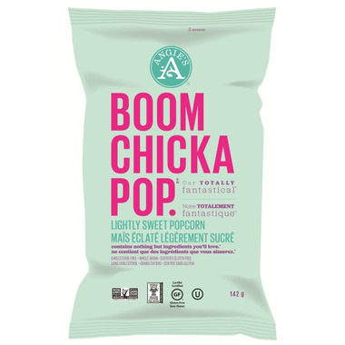 Angie\'s Boom Chicka Pop Lightly Sweet Popcorn