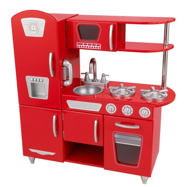 KidKraft Vintage Kitchen Red