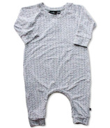 Vonbon Long Sleeve Romper Cable Grey