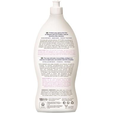 ATTITUDE Natural Baby Bottle & Dishwashing Liquid