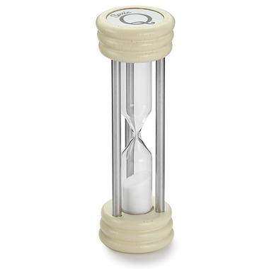 Suzie Q Hourglass Timer White