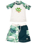 Banz Two Piece Swimsuit Frog