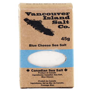 Vancouver Island Salt Co. Blue Cheese Canadian Sea Salt