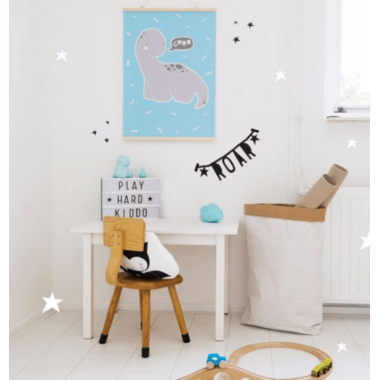 A Little Lovely Company Brontosaurus Poster