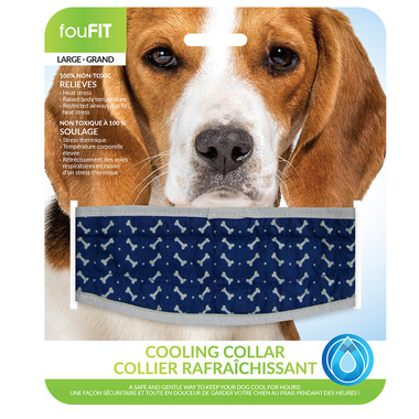 FouFit Cool Collar Large Grey