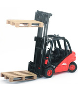 Bruder Toys Linde H30D Fork Lift With Pallets