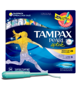 Tampax Pearl Active Tampons Duo-Pack