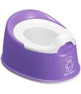 BabyBjorn Smart Potty Purple & White