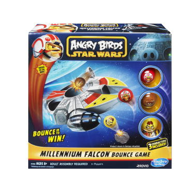 Star Wars Angry Birds Millenium Falcon Bounce Game