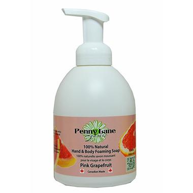 Penny Lane Organics 100% Natural Hand & Body Foaming Soap Pink Grapefruit