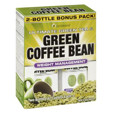 Phytogenix Ultimate Green Tea & Green Coffee Bean Bonus Pack