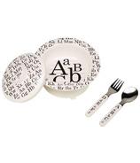 Sugarbooger Suction Bowl Set Vintage Alphabet