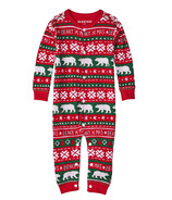 Little Blue House by Hatley Baby Union Suit Beary Xmas