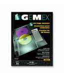Gemex CD/DVD Page Holders