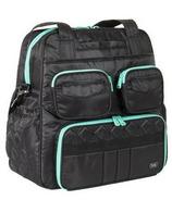 Lug Puddle Jumper Victory Gym / Overnight Bag Midnight Black