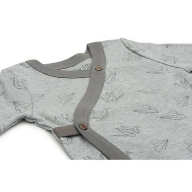 Finn & Emma Long Sleeve Bodysuit Origami