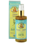 Badger Calming Baby Oil