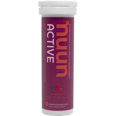 Nuun Active Effervescent Electrolyte Supplement Tri-Berry