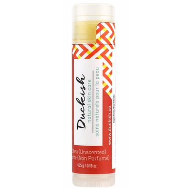 Duckish Natural Skin Care Unscented Shea Lip Balm