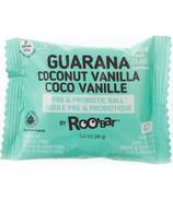 Roobar Guarana Coconut Vanilla Roobiotic Pre & Probiotic Ball