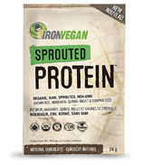IronVegan Sprouted Protein Chocolate Singles