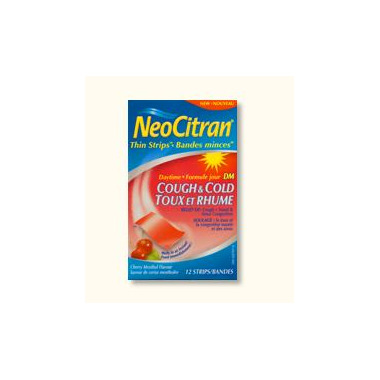 NeoCitran Thin Strips - Daytime