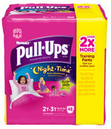 Pull-Ups Night Time Training Pants For Girls Big Pack