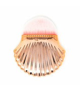 Zoe Ayla Shell Style Foundation Brush Rose Gold