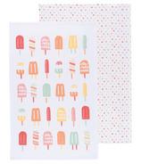 Now Designs Popsicles Print Tea Towels