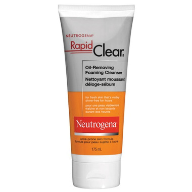 Neutrogena Rapid Clear Oil-Removing Foaming Cleanser