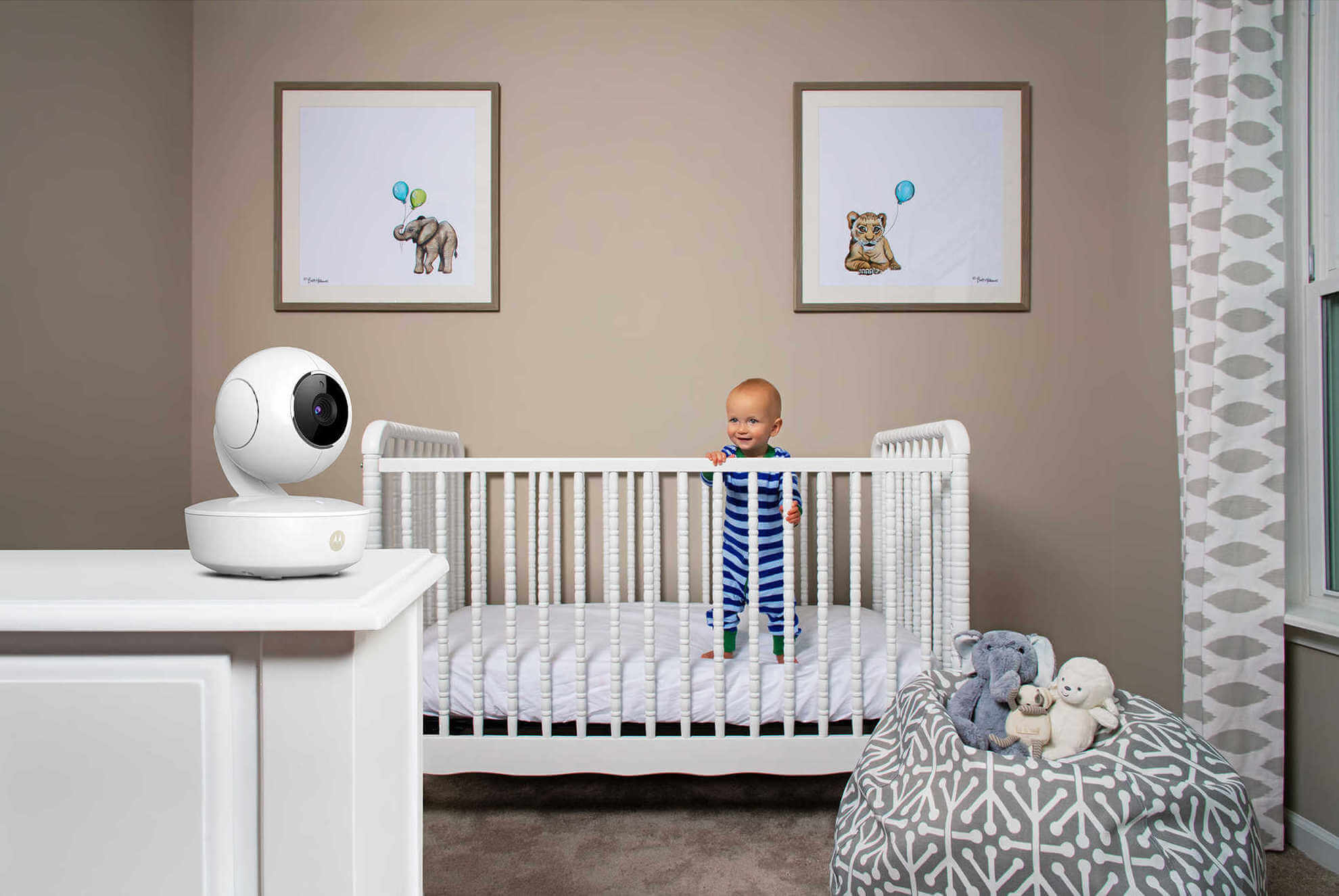 Buy Motorola MBP36XL Portable Video Baby Monitor from ...