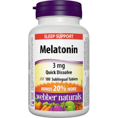 Webber Naturals Melatonin