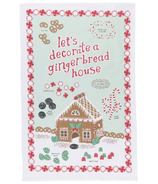 Now Designs Gingerbread House Dishtowel