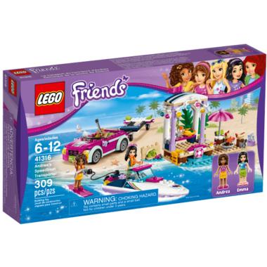 LEGO Friends Andrea\'s Speedboat Transporter