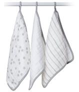 Lulujo Baby Cotton Muslin Wash Cloths