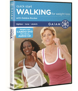 Gaiam Quick Start Walking for Weight Loss With Debbie Rocker DVD