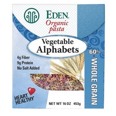 Eden Foods Vegetable Alphabets