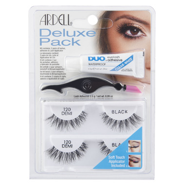 Ardell Deluxe Pack Style 120 Demi False Lashes Kit
