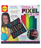 Alex Stitch A Pixel Pillow