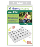 PharmaSystems MediPlanner2 Weekly Pill Vitamin Planner