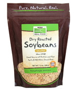 NOW Real Food Dry Roasted Soybeans