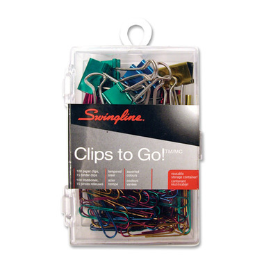 Swingline Binder and Paper Clips