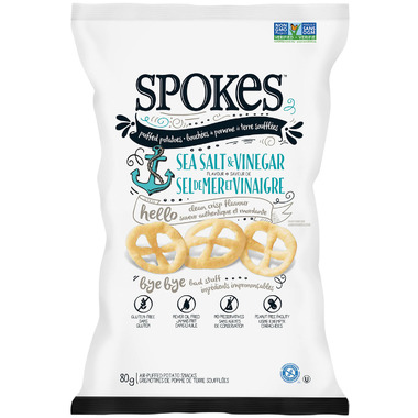 Spokes Snacks Sea Salt & Vinegar