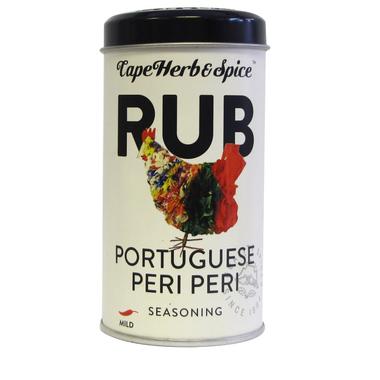 Cape Herb & Spice Rub Shaker Tin Portugese Peri Peri
