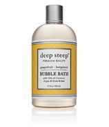 Deep Steep Classic Bubble Bath Grapefruit Bergamot